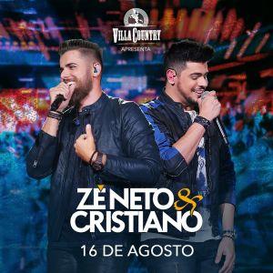 d6d4f40fe Na quinta-feira, dia 16 de agosto, a dupla Zé Neto e Cristiano retorna ao  Villa Country, o maior reduto sertanejo da América Latina, para apresentar  a turnê ...